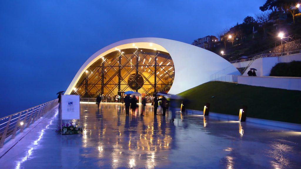 design-illuminazione-Auditorio Oscar Niemeyer Ravello