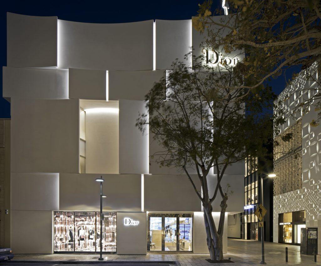 lighting project DIOR Miami