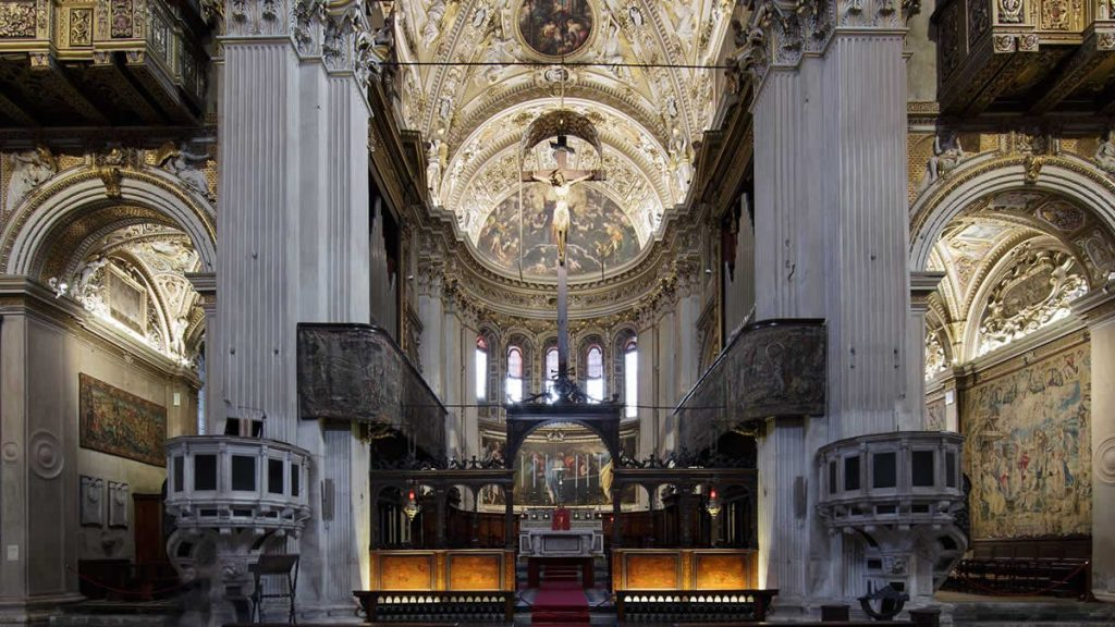 Basilica Santa Maria Maggiore Bergamo_2
