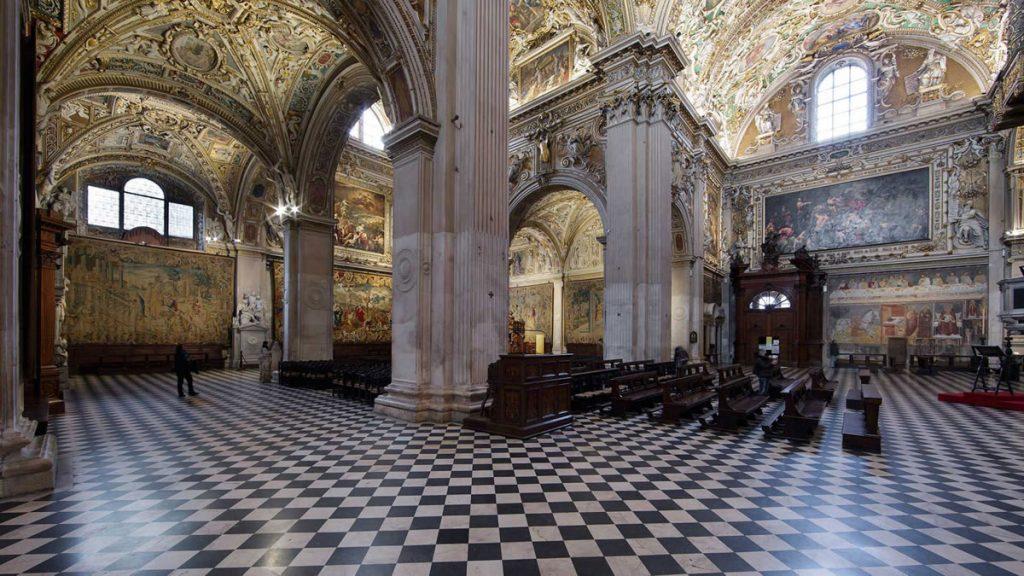 Sistema illuminazione Basilica Santa Maria Maggiore Bergamo_4