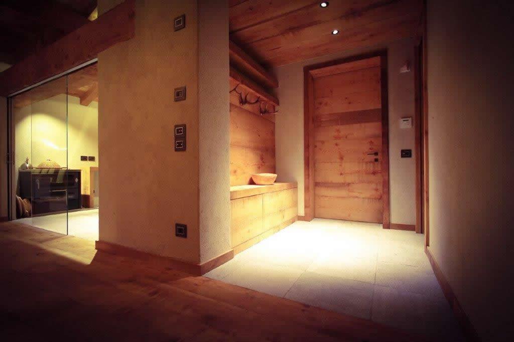 progetto-illuminazione Casa in montagna